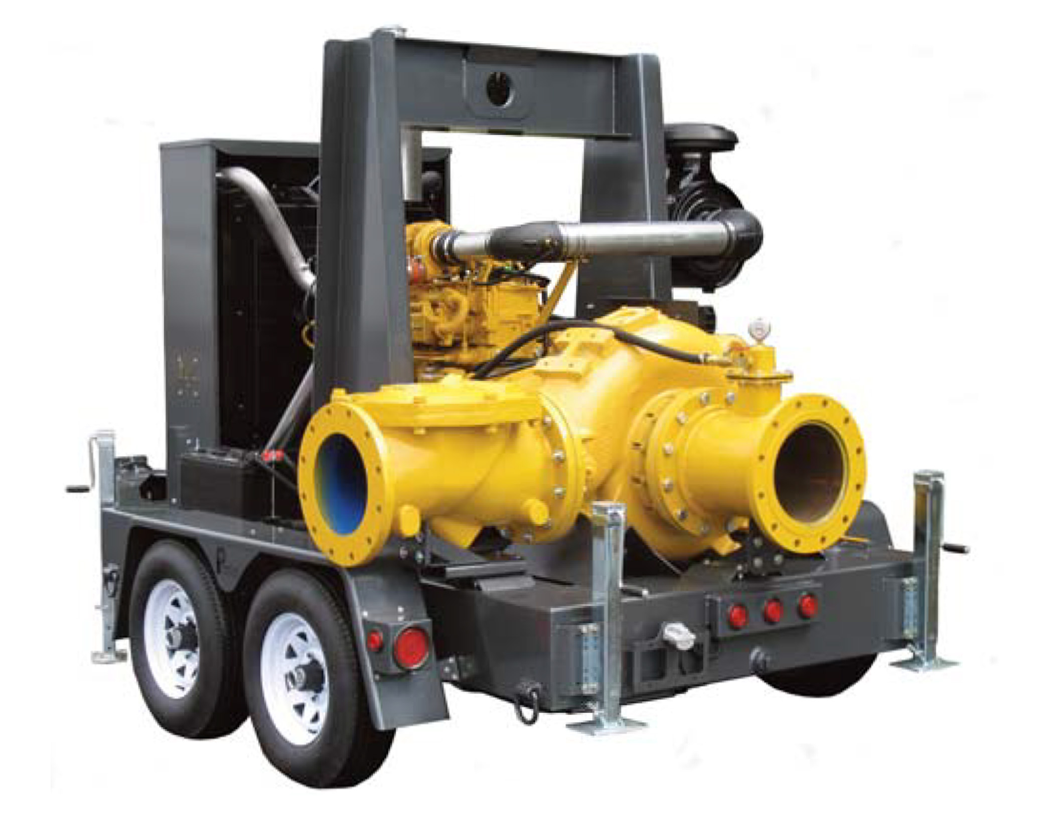 Model: 8NHTA Trailer Mounted Trash Pump