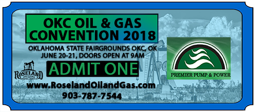 Oklahoma Oil & Gas Convention Ticket
